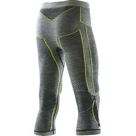 X-Bionic Apani Merino By X-Bionic Fastflow Medium Uw Pants Men Black/Grey/Yellow